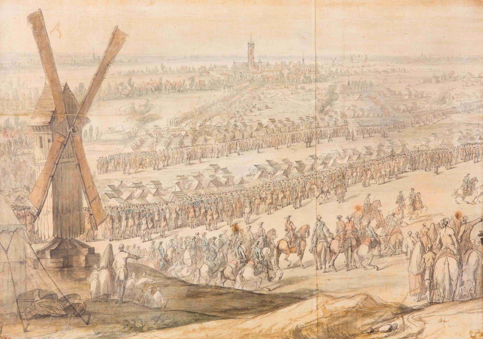 La vie interne au corps dans les armées de Louis XV Batailleun