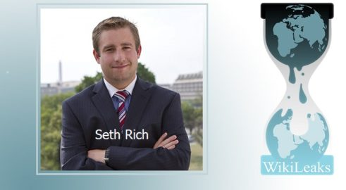 Julian Assange's Mother: Seth Rich Was DNC Leaker Seth-rich-wikileaks-logo-491x270