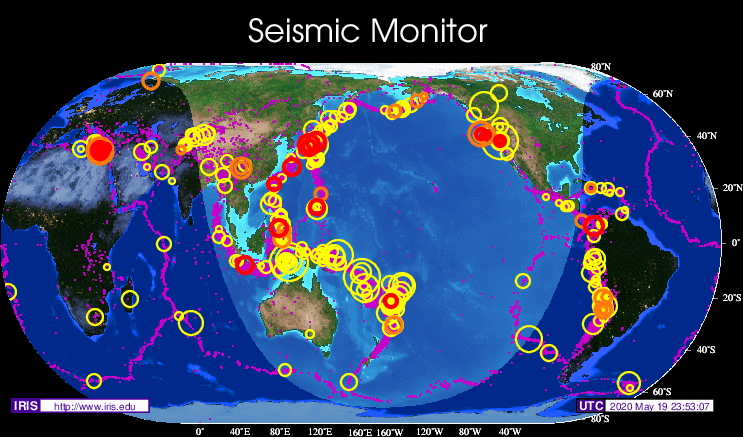 The Earthquake/Seismic Activity Log #2 - Page 4 TopMap.eveday