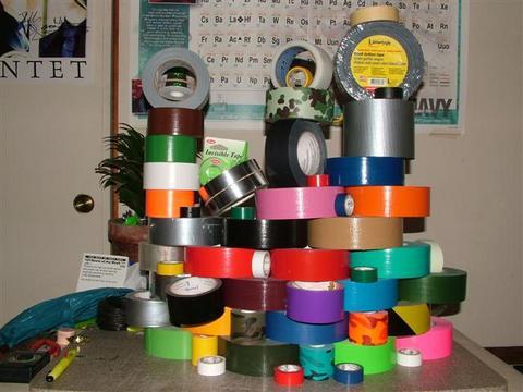 cinta - Si se mueve es que no has puesto suficiente cinta Shrine