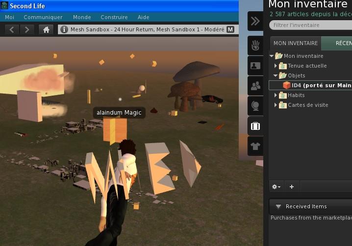 Second Life - Page 5 MeshviewerSL1