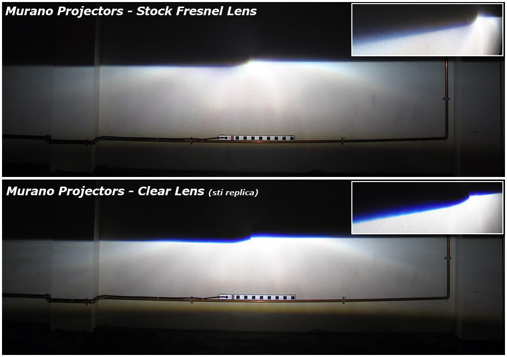 [antixe42] Lentille de projecteur xénon  opaque solution Projectors