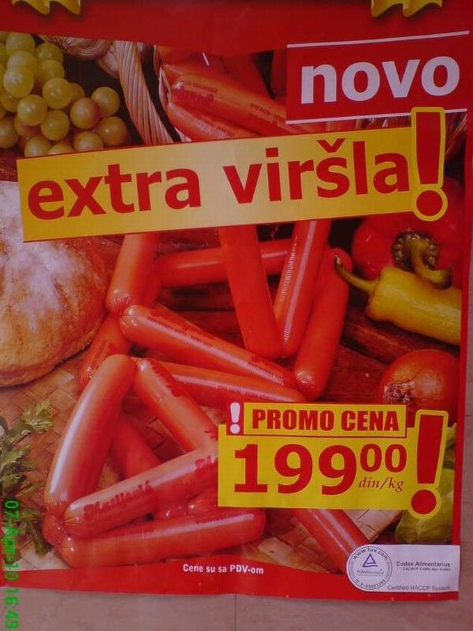 Otrovana hrana Kodexalimentarijus-virc5a1le