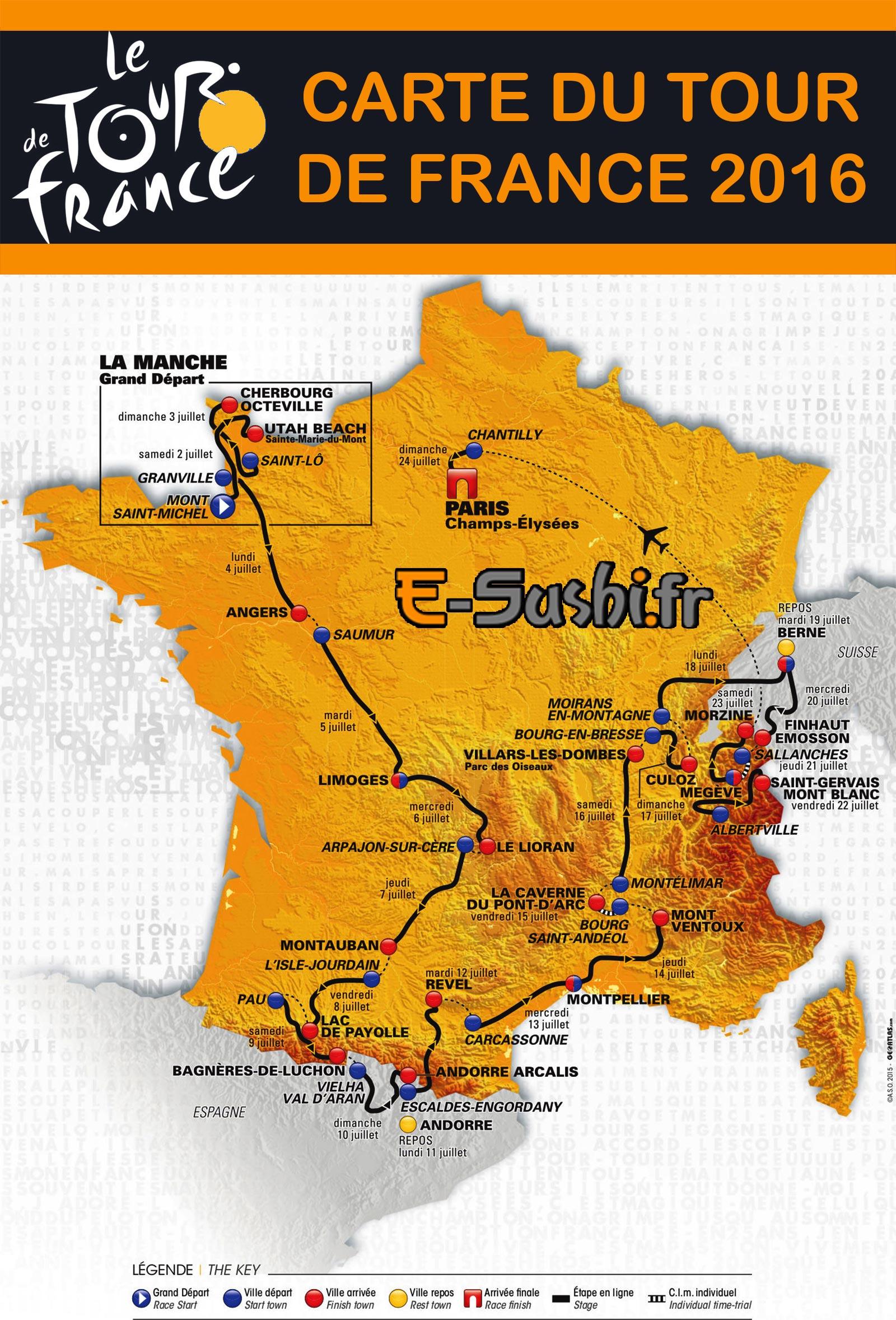 Tour de Francia 2016 - Página 2 Carte-tour-de-france-2016
