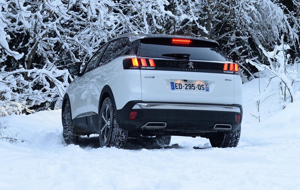 Probamos el Peugeot 3008 en nieve: Capaz de todo 14849330633866