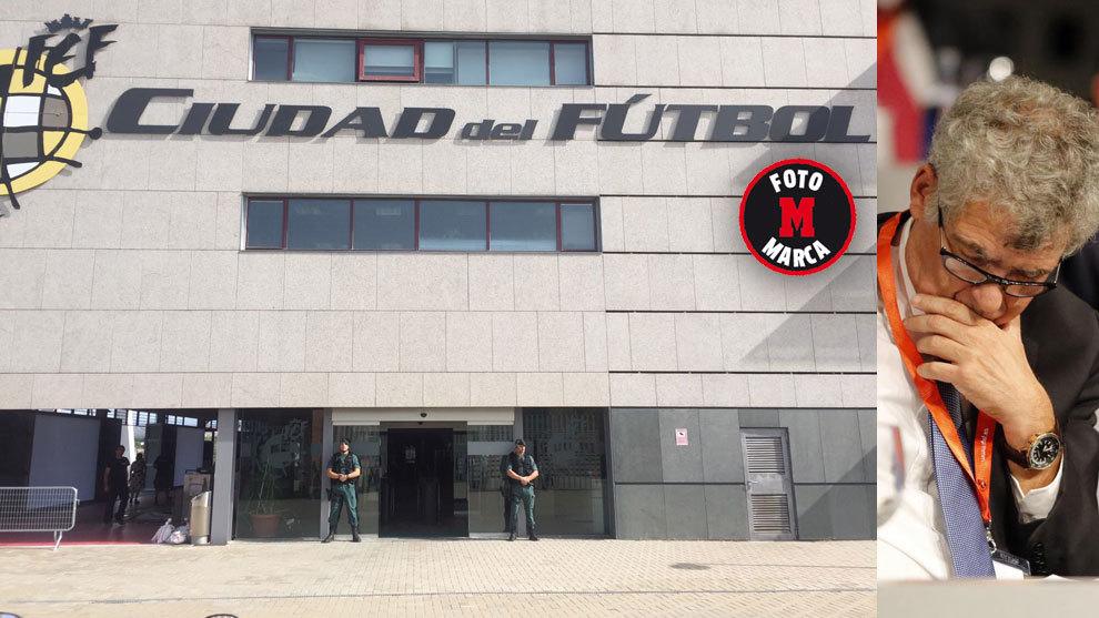 Detenido Ángel María Villar en una operación anticorrupción contra la Federación Española de Fútbol 15003670625675