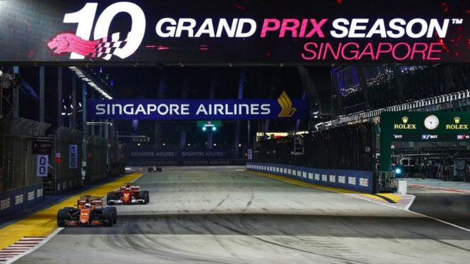 | F1 17 T.XVIII | Sanciones Gran Premio de Singapur 15055699005563
