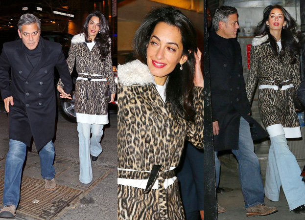 George Clooney, Amal and Nina dine at favourite Patsy's Italian Restaurant in NYC 55995f1c761e0543a6907a3ac1815708166e9cb9