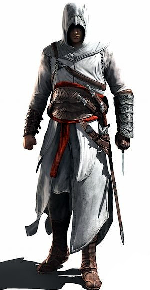 your 3 most favourite video game characters Altair