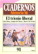 El trienio liberal - Varios autores - Cuadernos de Historia 16 - año 1985 - formato pdf 116043