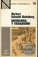 Sociología y Urbanismo - Norbert Schmidt-Relenberg - año 1968 - 1976 en español - formato Pdf  140604