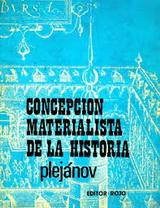 La concepción materialista de la Historia - Jorge Plejánov -  año 1897 - formato pdf 139037