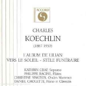 Koechlin - Musique de Chambre et Solos (Piano, flûte etc.) 3136ZEXRSKL._