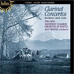Rawsthorne - Jacob - Cooke - Concertos pour clar. et cordes 41M9AFRZQCL._AA240_