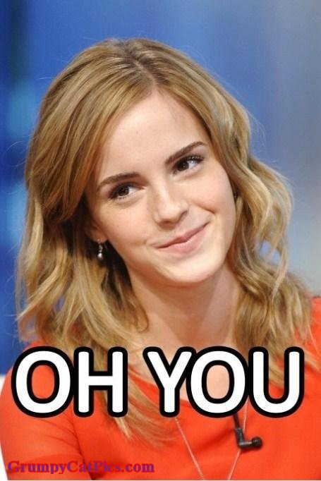 Plot twist Emma-Watson----Can-t-Get-Mad-At-That-Face--And-C-mon---you-Know-You-Smiled-Right-Back-At-This-Photo--