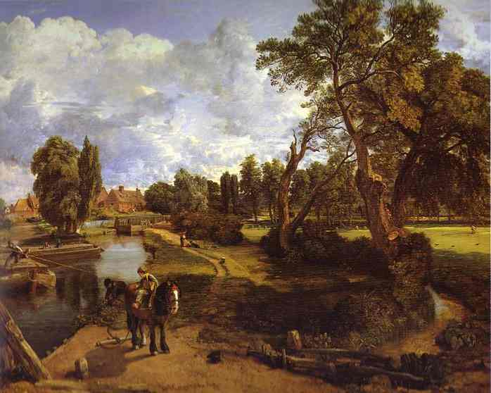 John Constable Flatford-mill-by-john-constable