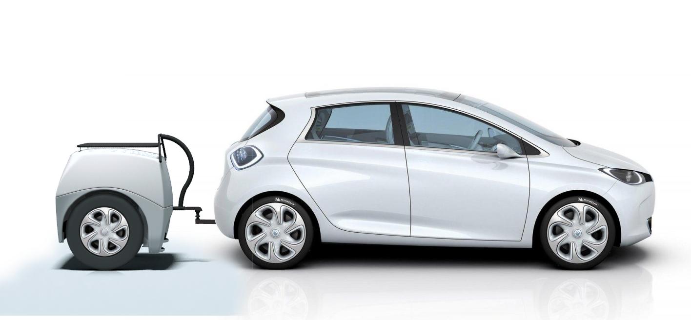Une batterie externe pour recharger votre voiture comme un téléphone ! By DETOURS                        EP-Tender