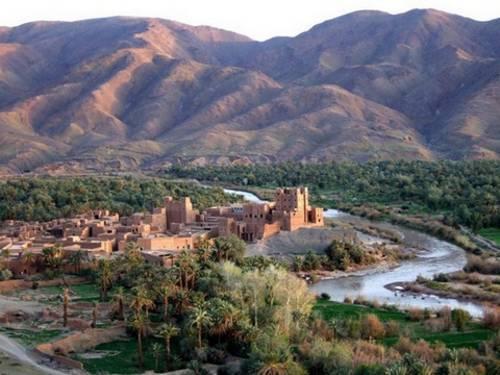 Adaptation préoccupante des oasis aux changements climatique Oasis