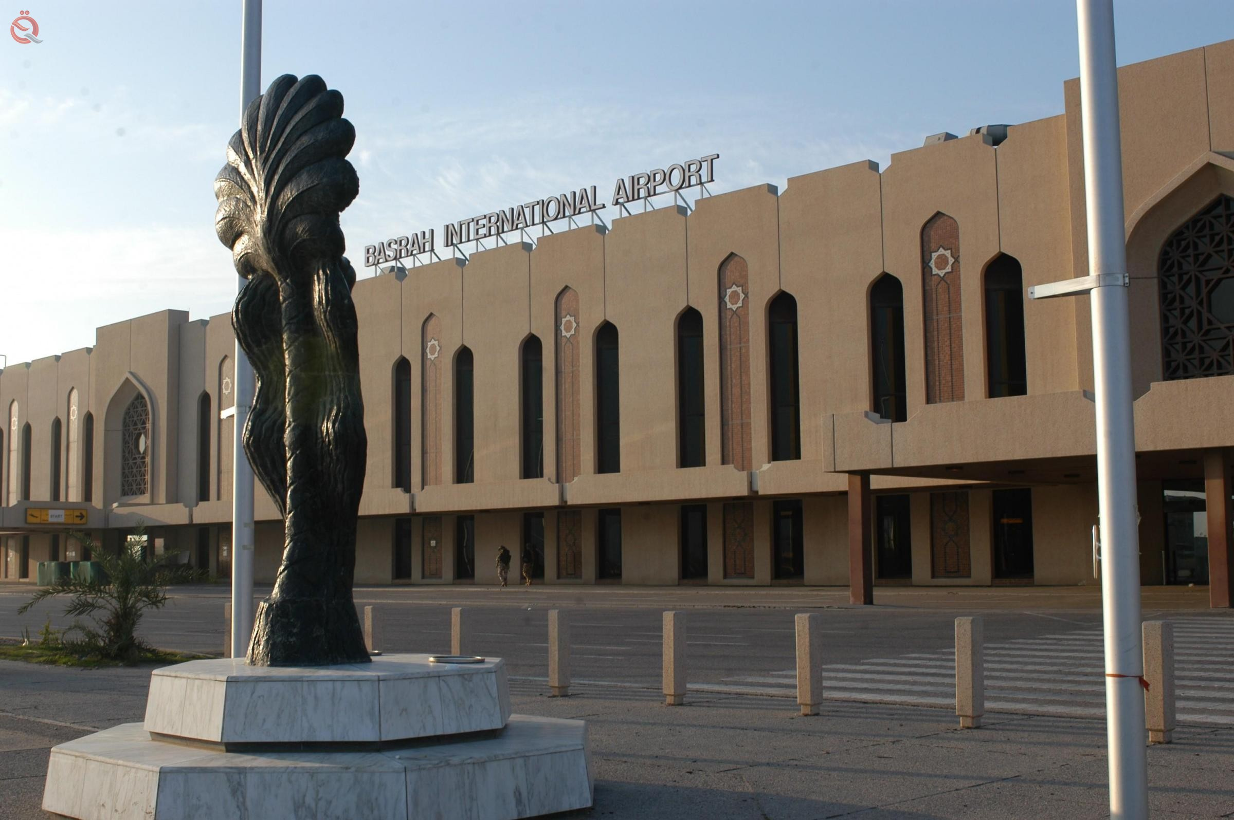 Basra airport records an increase in the number of flights 12207