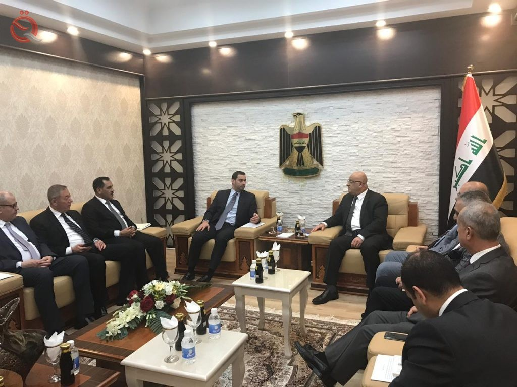 Trade highlights the main points of her minister's meeting with the Jordanian delegation 12608