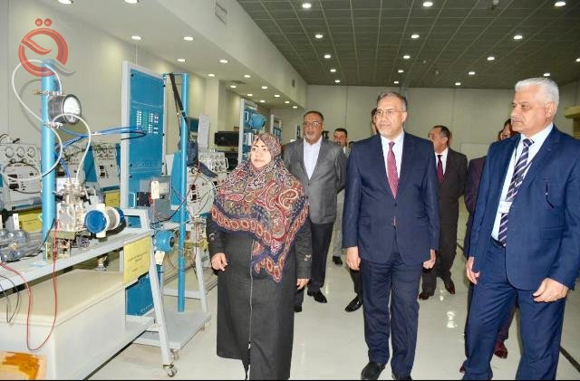 Electricity opens the first laboratory in Iraq to build solar plants 12732
