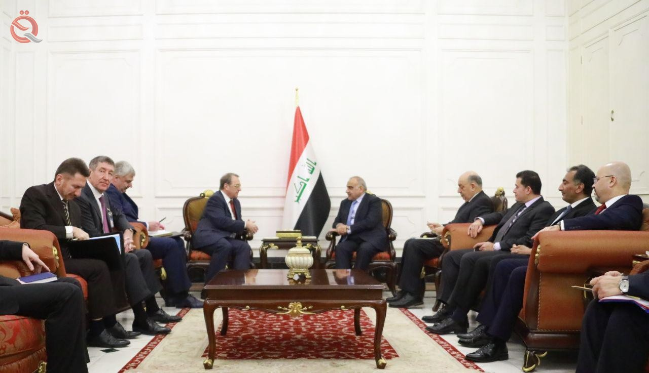 Abdul Mahdi, Putin's envoy to Iraq's desire for economic cooperation and development of oil fields 12780