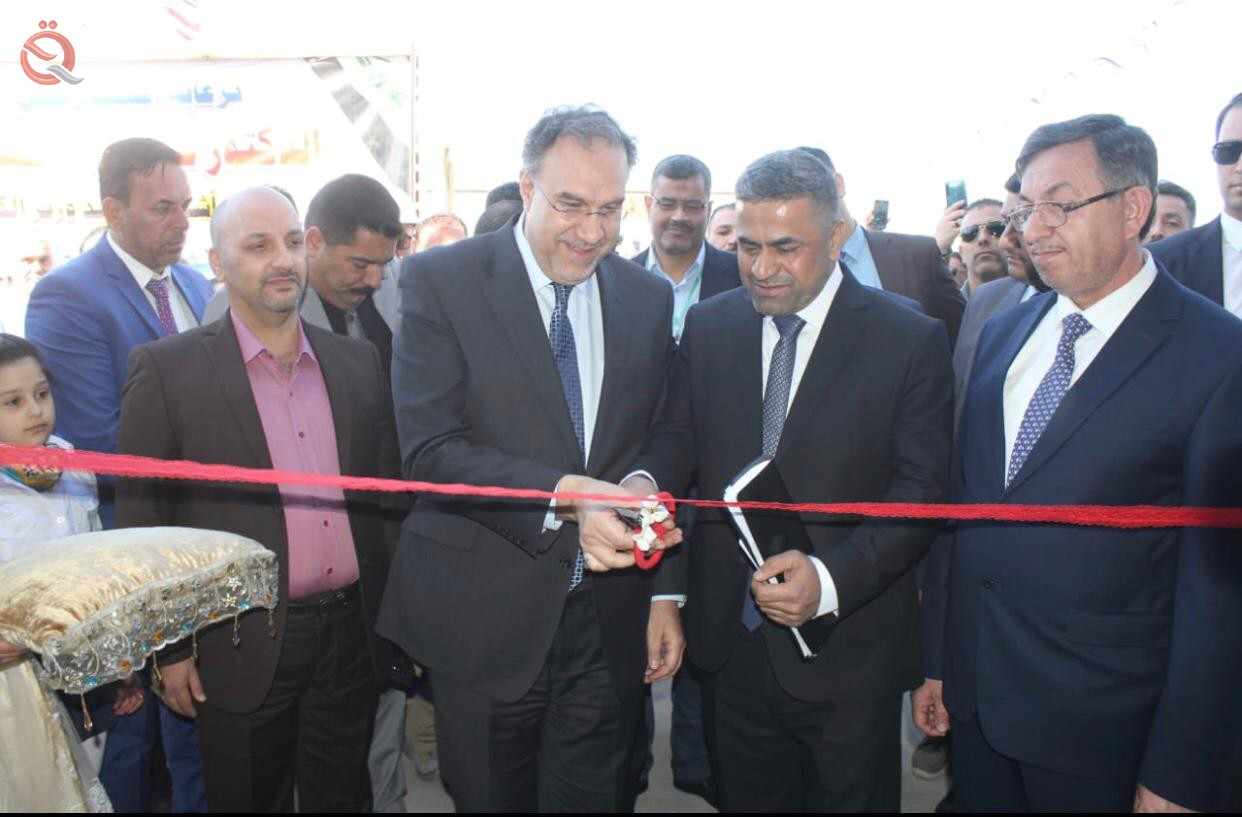 Electricity announces the opening of Yarmouk transformative station with a capacity of 132 kV 13304