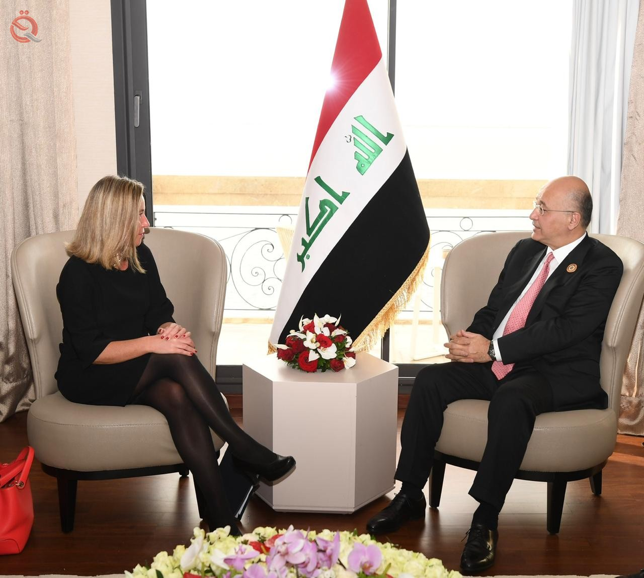 The European Union pledges its support to Iraq in the reconstruction of liberated cities 14085