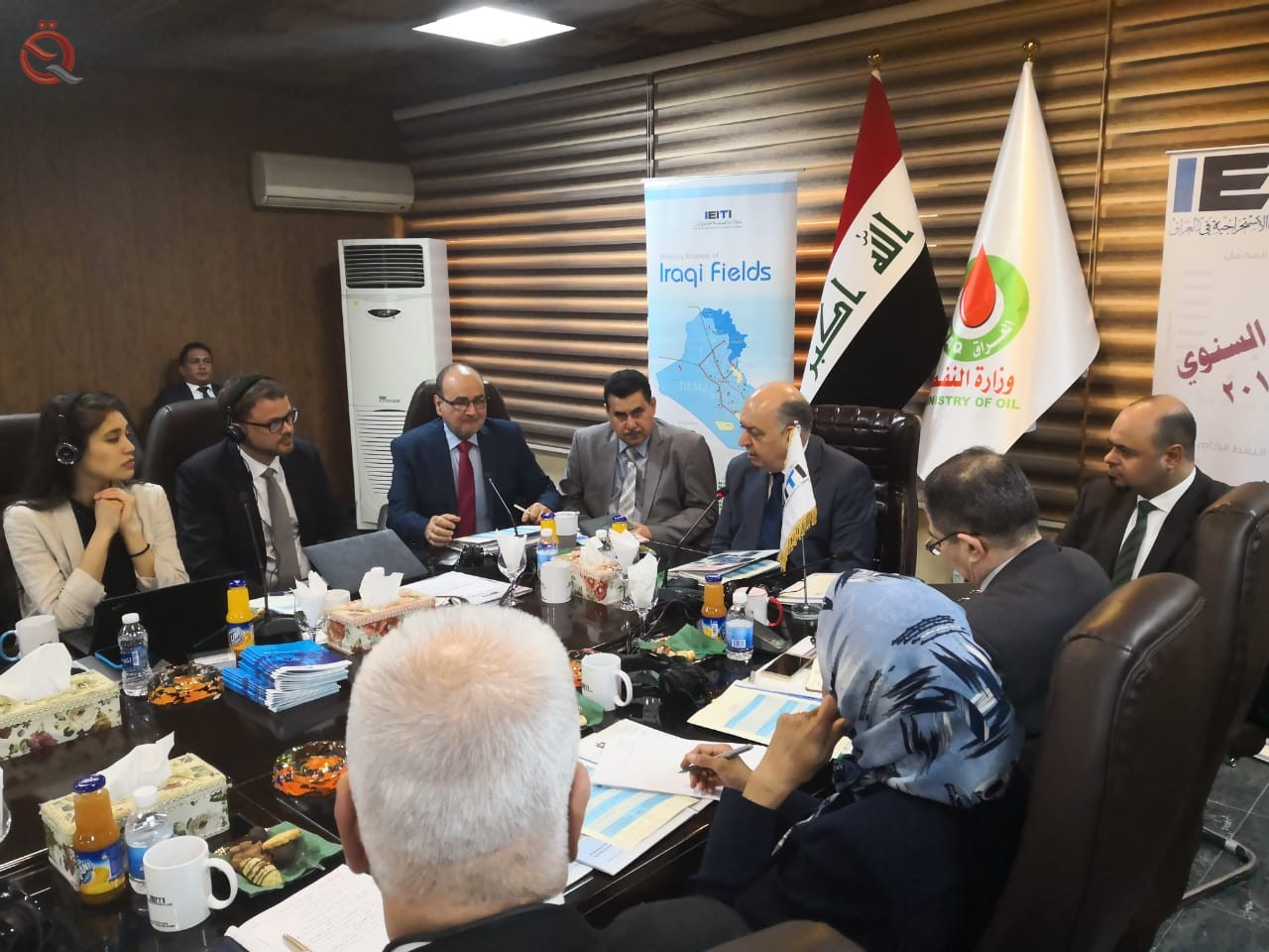 Transparency Initiative holds a meeting at the Ministry of Oil to discuss the profitability of oil companies 14297