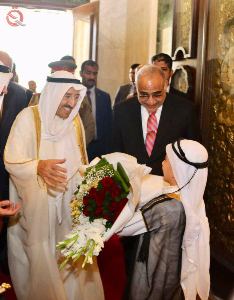 Kuwaiti Amir visits Baghdad 15830