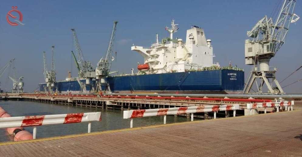 Khor al-Zubair receives the largest tanker entering Iraqi ports 15848