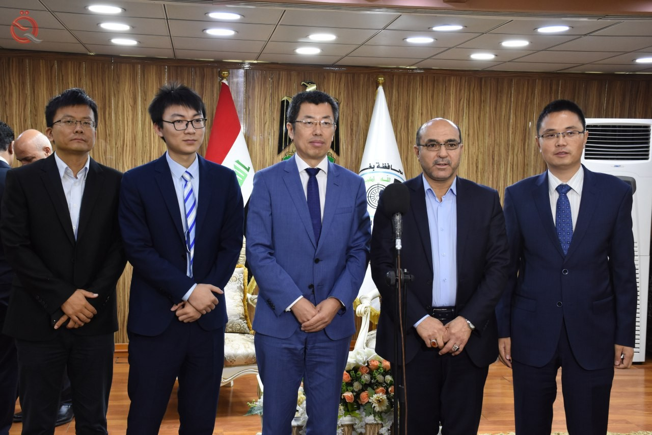 Chinese projects target 8 service sectors in Baghdad belt areas 16250