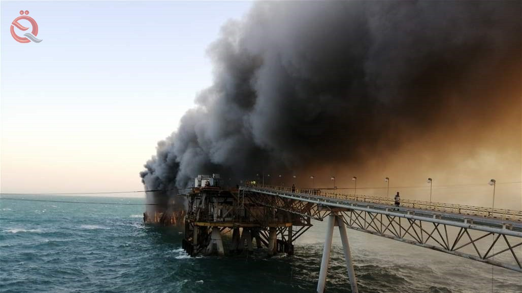 Basra oil issued a statement on the fire of one of its ports 16267