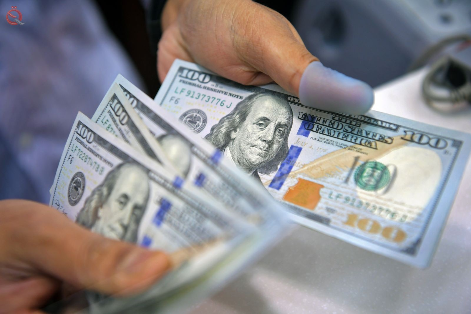 The low exchange rate of the dollar against the Iraqi dinar 16540