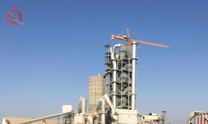 Najaf cement plant achieved a surge in sales during the past month 16569