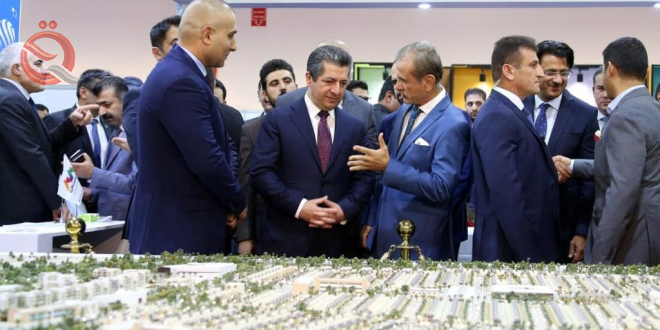 Hundreds of foreign, local companies participate in 13th Erbil Trade Fair 17423
