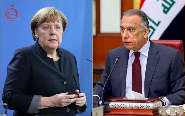 Al-Kazemi and Merkel agree to develop economic and financial cooperation between the two countries 21074