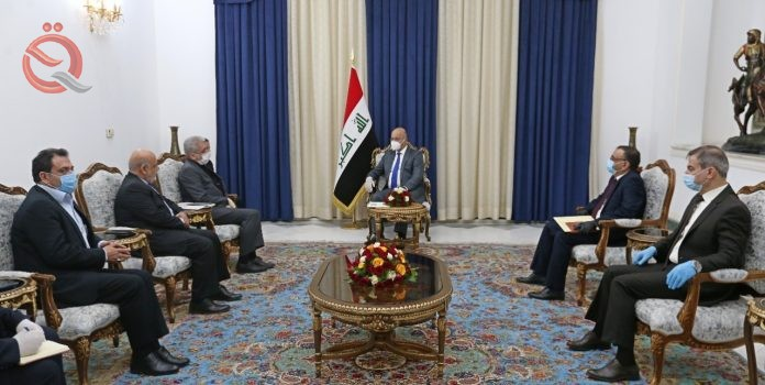 The Minister of Planning discusses with the Iranian ambassador the development and increase of the volume of joint cooperation between the two countries 21214