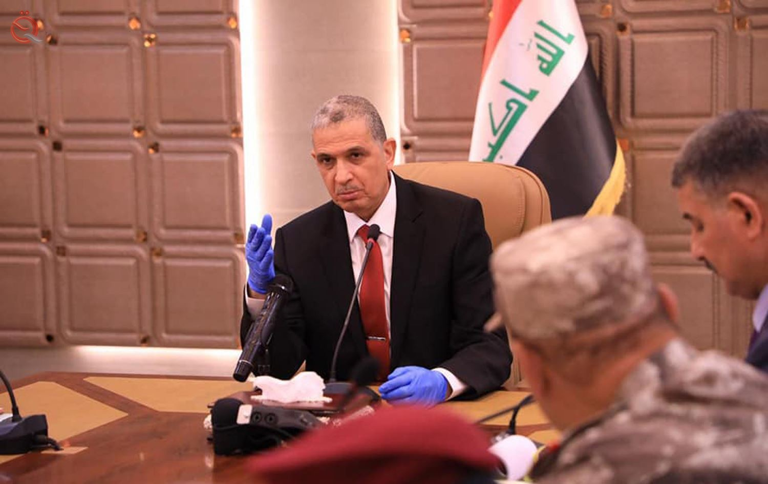 The Ministry of Interior announces the distribution of grants for the families of the martyrs and the wounded in three governorates 22124