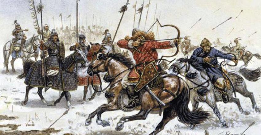 Saint Étienne roi apostolique de Hongrie - comment la Hongrie est devenue un pays chrétien Les-huns-ancetres-des-mongols-850x440
