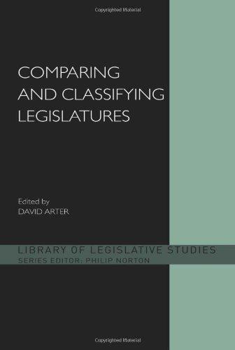 Comparing and Classifying Legislatures (Library of Legislative Studies) 31-L9IkefvL