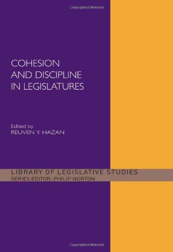 Cohesion and Discipline in Legislatures (Library of Legislative Studies) 31sT2ydbfCL