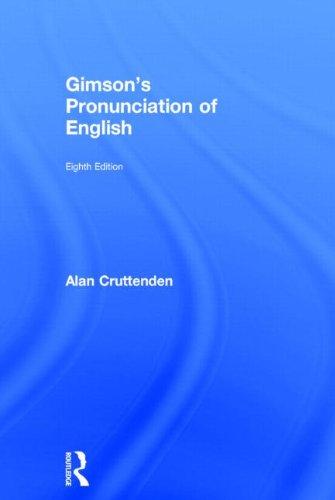 Gimson's Pronunciation of English 31zPmZ6IYML