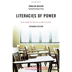 Literacies of Power: What Americans Are Not Allowed to Know 418ZBCGNBWL._SL500_AA240_