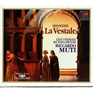 Gaspare Spontini (1774-1851): La Vestale ...et autres œuvres 41BJDQJCDFL._SL500_AA300_