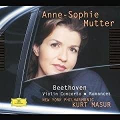 Beethoven - Mutter - Concerto & romances pour violon 41G23YJHG7L._AA240_