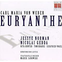 Carl Maria von WEBER - Euryanthe, Oberon & autres opéras 41KVRWHSNGL._SL500_AA240_