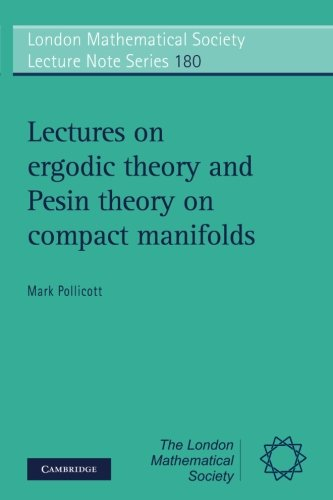 Lectures on Ergodic Theory and Pesin Theory on Compact Manifolds 41ODUeNHPiL