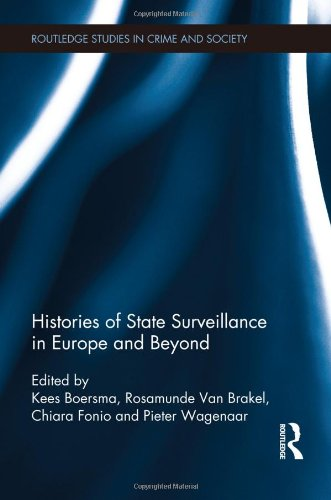 Histories of State Surveillance in Europe and Beyond 41Rec560mKL