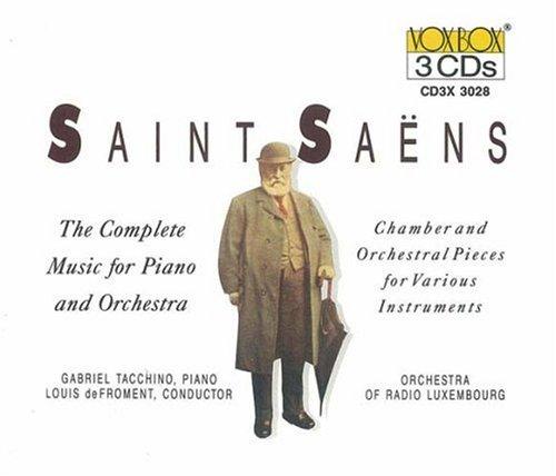 Saint-Saëns - Concertos pour piano  41UZ4i8CSDL